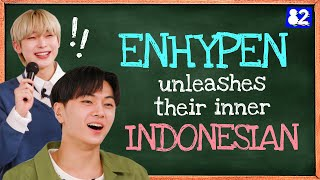 ENHYPEN Sounds Just Like Your Indonesian Crush | Tongue Twister