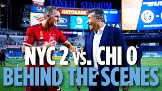 BEHIND THE SCENES | NYCFC vs. Chicago | 09.26.18