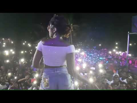 Ebony's funpacked performance at the Prampam Homowo Festival