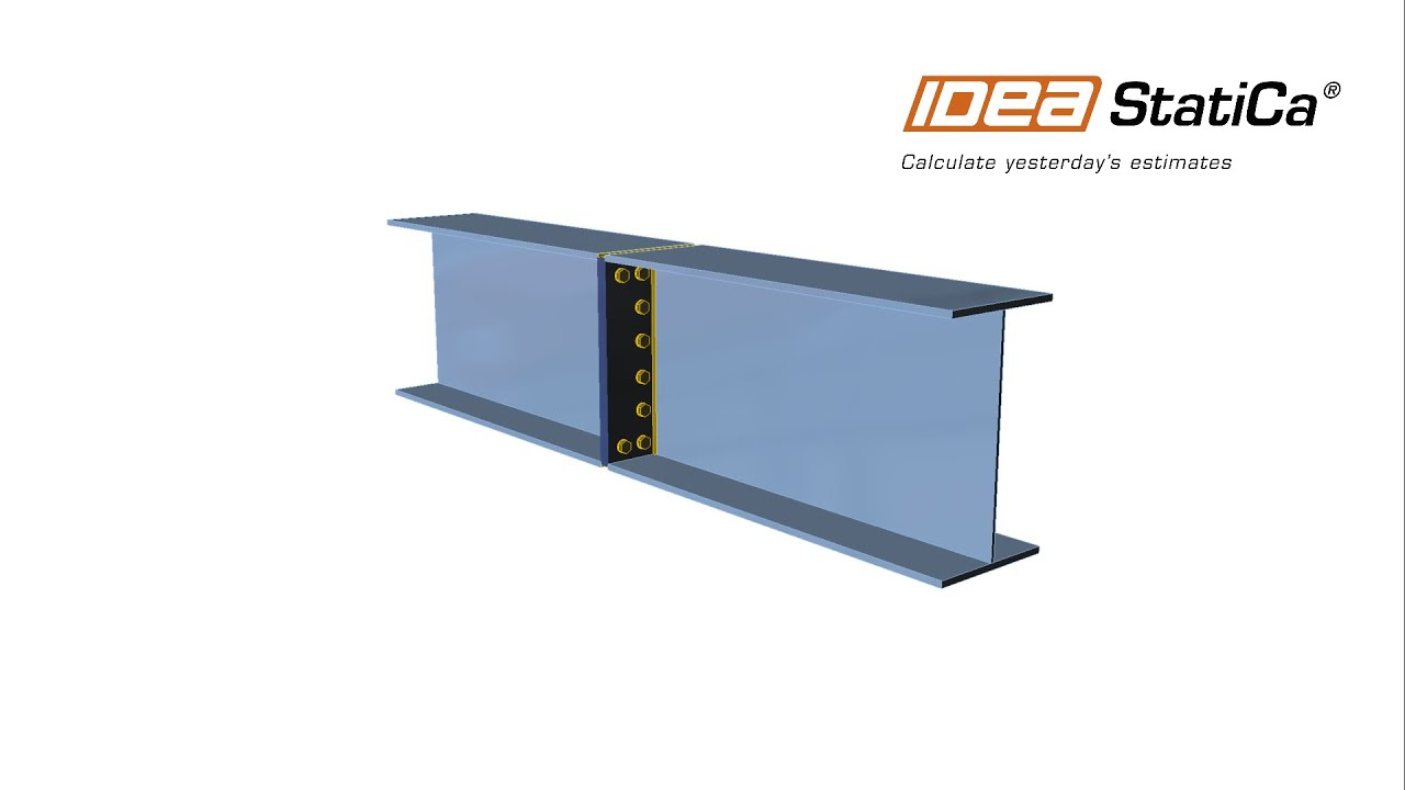IDEA StatiCa Steel - Design of bolted plate to plate connection