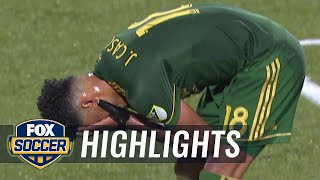 A Portland Timbers own goal gives the Seattle Sounders a late game lead | 2018 MLS Highlights