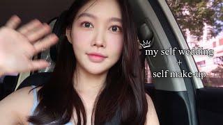 지난 여름  셀프 웨딩촬영 vlog + 셀프 웨딩 메이…