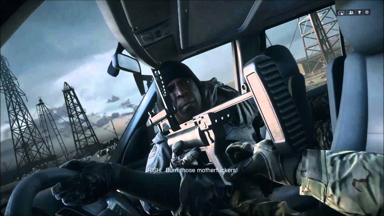 Battlefield 4 Elicottero : Battlefield campaign mission fishing in baku