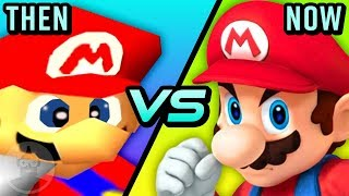 Super Smash Bros - Then Vs Now - The Evolution Of Smash Brothers | The Leaderboard