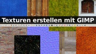 Texturen erstellen mit Gimp - Tutorial (deutsch)