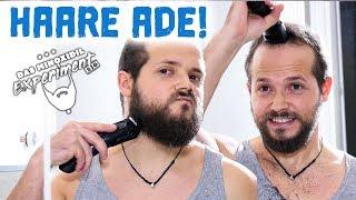 Ich SCHNEIDE meine (BART) Haare ab! | Das Minoxidil Experiment 2.0 Woche1
