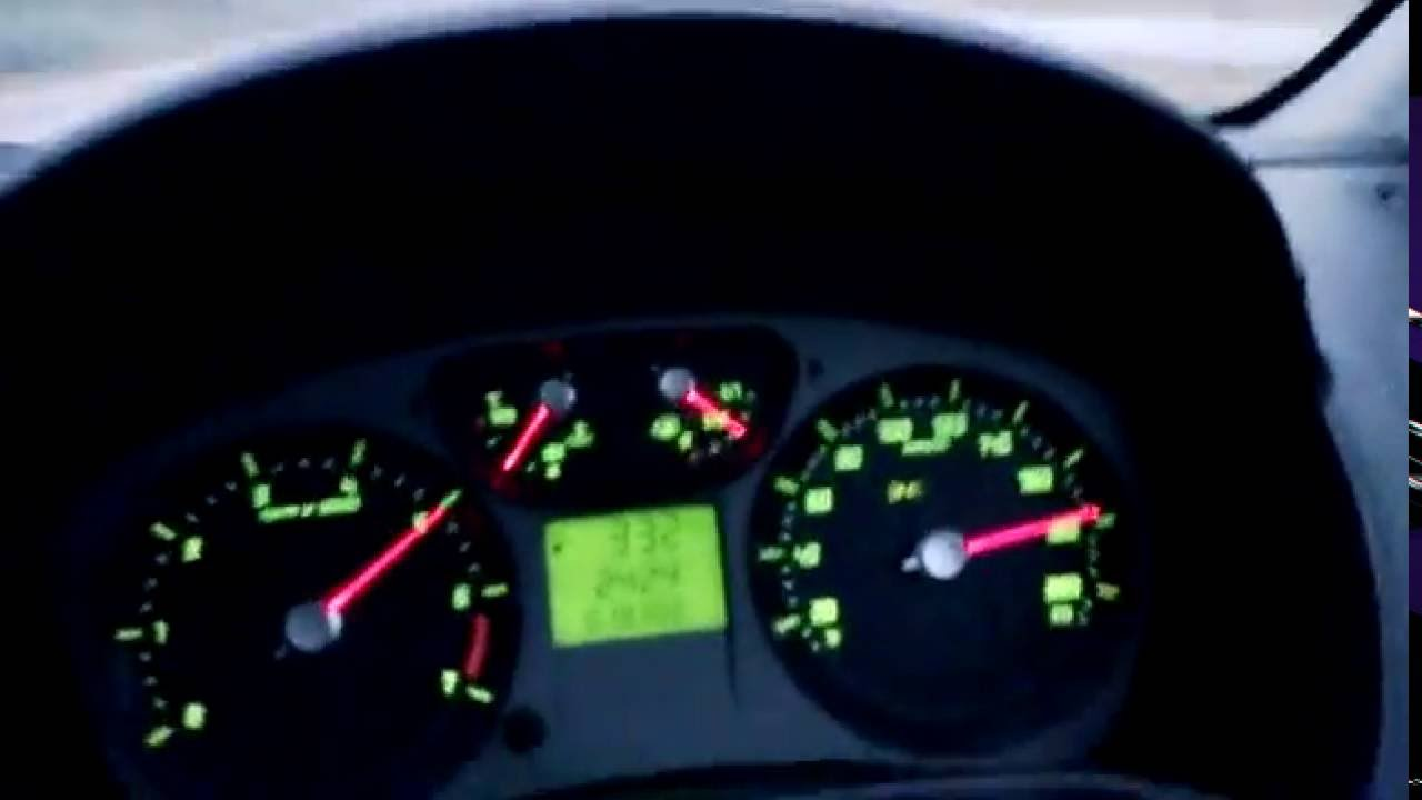 Ford Fiesta 1.6S Top speed - YouTube