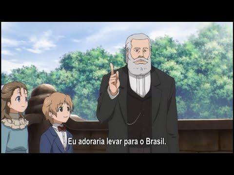 """Dom Pedro II em """"Time Travel Shoujo"""" — EPISÓDIO 8 COMPLETO — """"Beru no Ketsudan/Bell's Decision"""""""