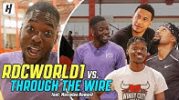 RDCworld1 vs. Through The Wire Podcast BASKETBALL Game | feat. Marcelas Howard