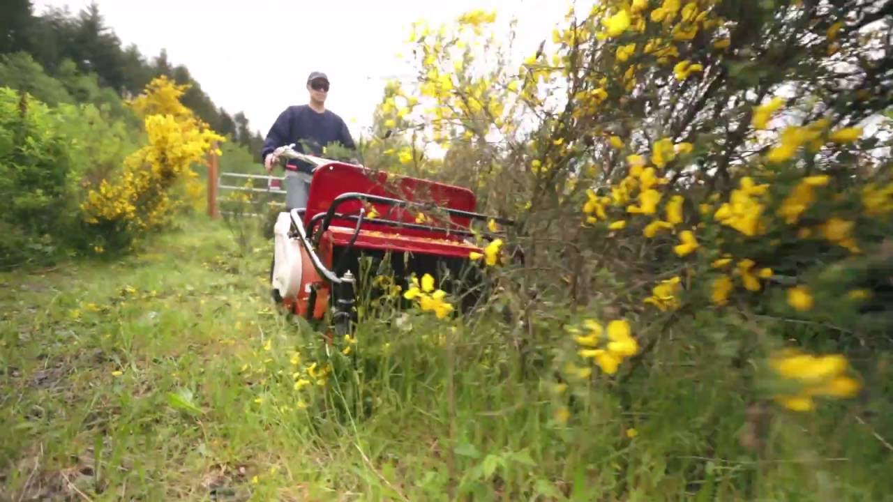 An Overview of the Cyclone Walk Behind Flail Mower – Wheeled Version