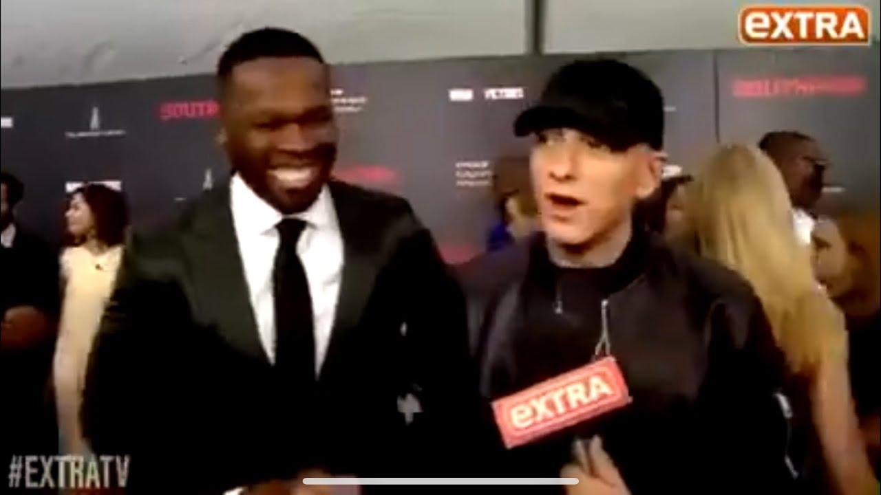 Eminem & 50 Cent ExtraTV Interview