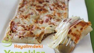 Mozzarella veya Kaşar Peynirli Krep Tarifi
