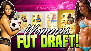 INSANE WOMENS FOOTBALL FUT DRAFT!!! | FIFA 16 ULTIMATE TEAM FUTDRAFT!!!