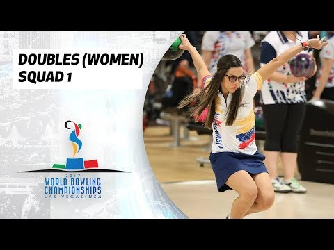 Women's Doubles Squad 1 - World Bowling Championships 2017
