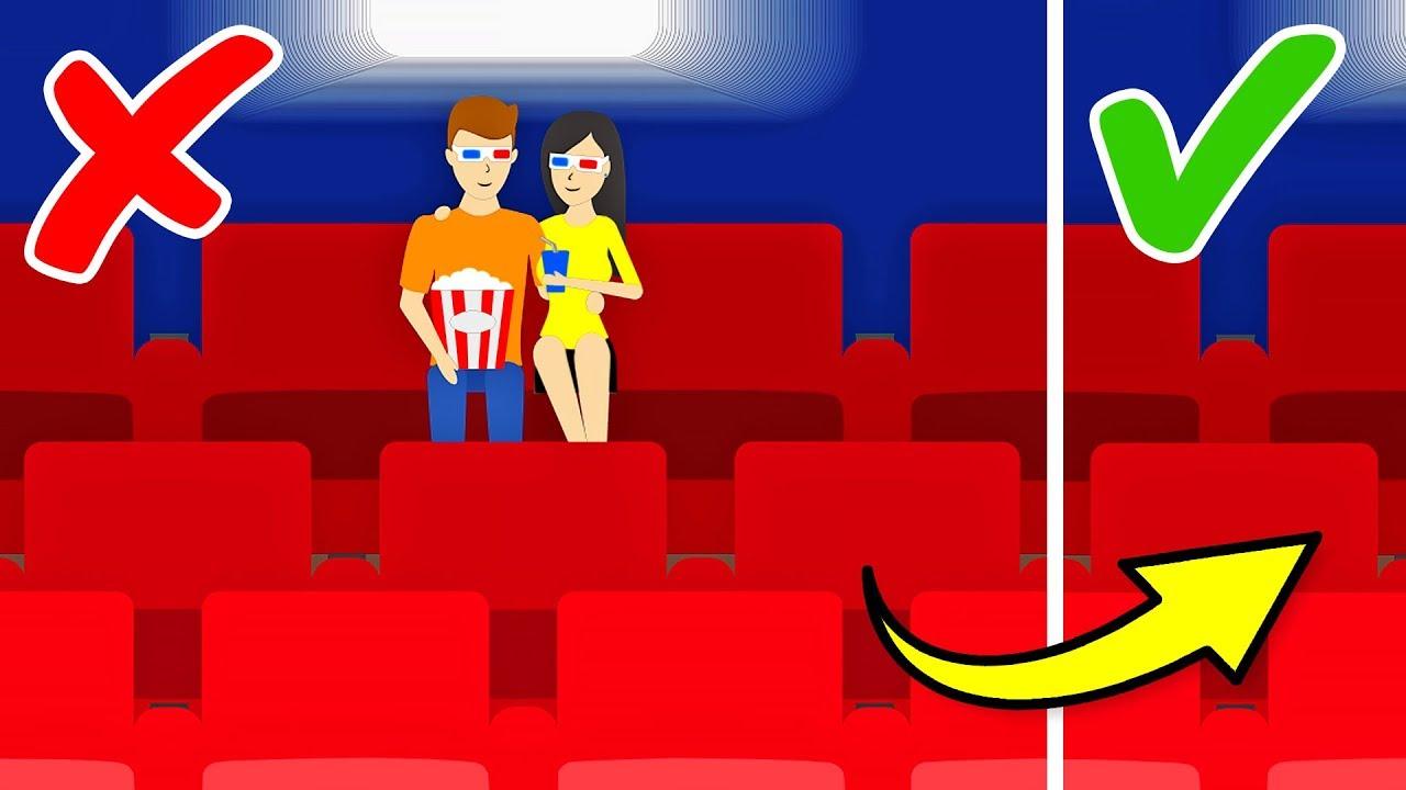 10 Datos sobre los cines que se supone que no deberías saber