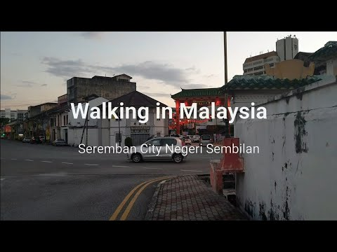 The Best Place Chinese New Year in Malaysia Walking at Serem
