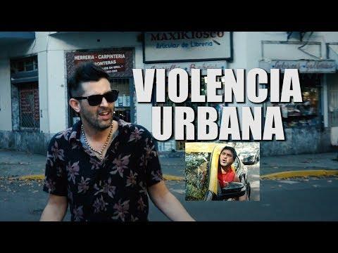 GUILLE AQUINO   Sketch - VIOLENCIA URBANA