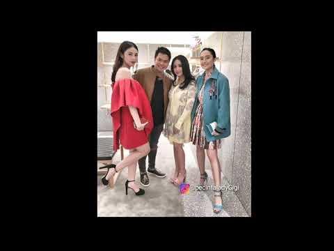 Cantik Nya Nagita Slavina di  Valentino Plaza Indonesia Store Opening