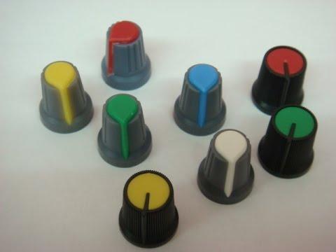 ручка для переменного резистора ( реостат потенциометр ) своими руками.