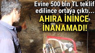 Aydın'da Bir Evin Altında Tonlarca Altın Olduğu İddia Edildi