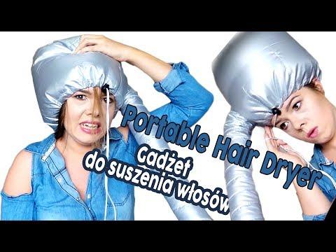 Gadżet do suszenia włosów Portable Hair Dryer #045