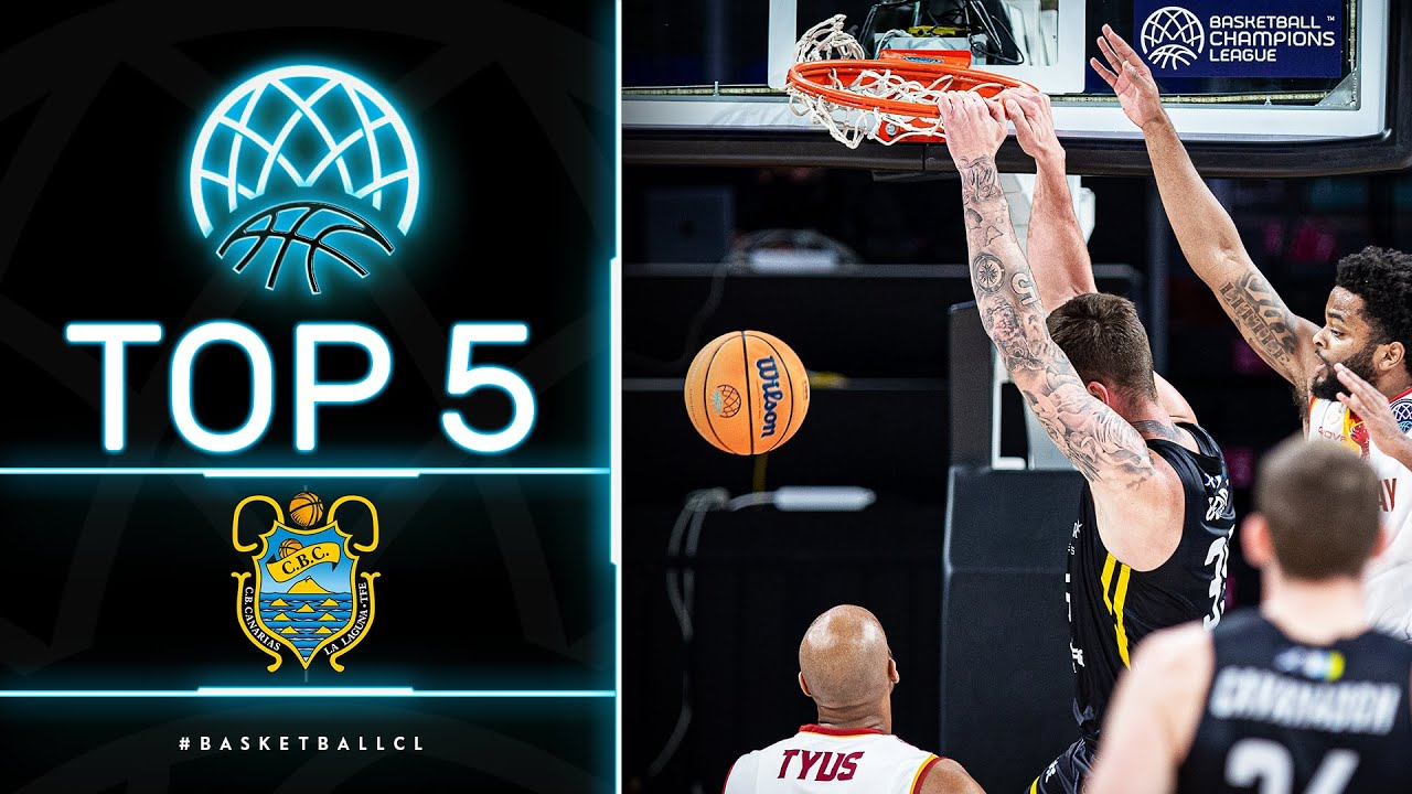 Top 5 Plays | Lenovo Tenerife | Basketball Champions League 2020/21