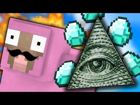 Minecraft   IS THE ILLUMINATI REAL??