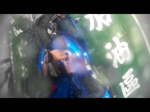 開車在加油站逆向加油 He is driving the wrong way on the GAS |Suzuki Gsx-R150|台灣三寶