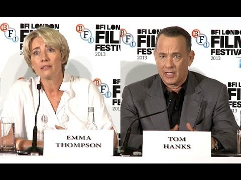 Saving Mr Banks Premiere Interviews - Tom Hanks, Emma Thompson & Colin Farrell
