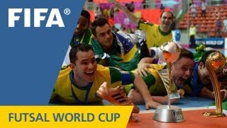 Brazil take epic futsal final in extra time thriller