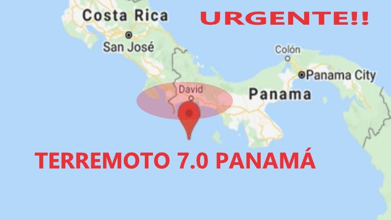 URGENTE FUERTE SISMO PANAMÁ 7.0  ALERTA CON LO QUE PUEDE VENIR!! / PAISES EN ALERTA