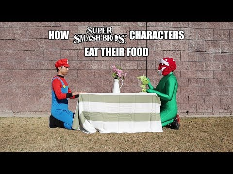 How Super Smash Bros. Characters Eat Their Food - With Lethal Soul thumbnail