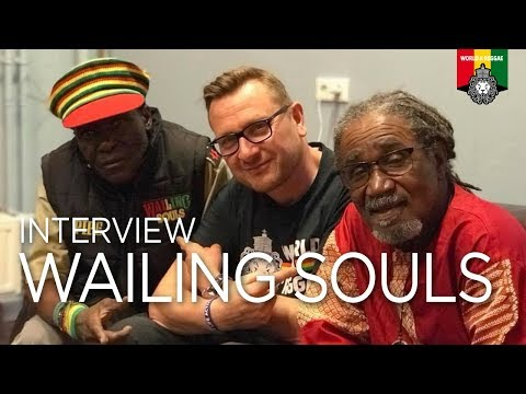 The Wailing Souls speak about Reggae History, April 2018