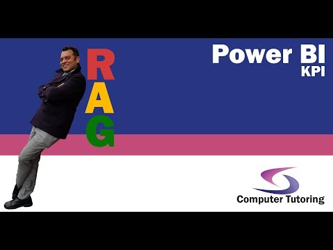 RAG status (Red, Amber, Green) KPI in Power BI - Computer Tutoring
