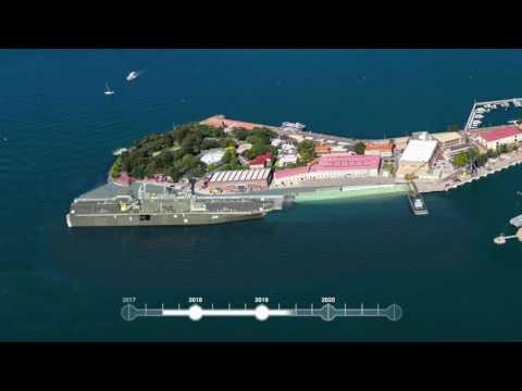 Fleet Base East, Garden Island, upgrade overview