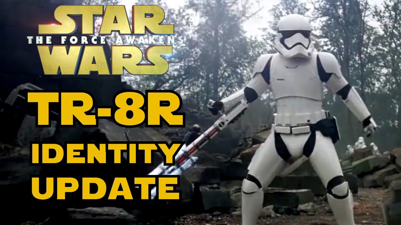 Tr 8r Official Identity Fn 2199 Star Wars Minute Youtube