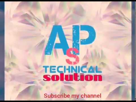 new channel my APS technical solution all any problem discuss this channel and repairing