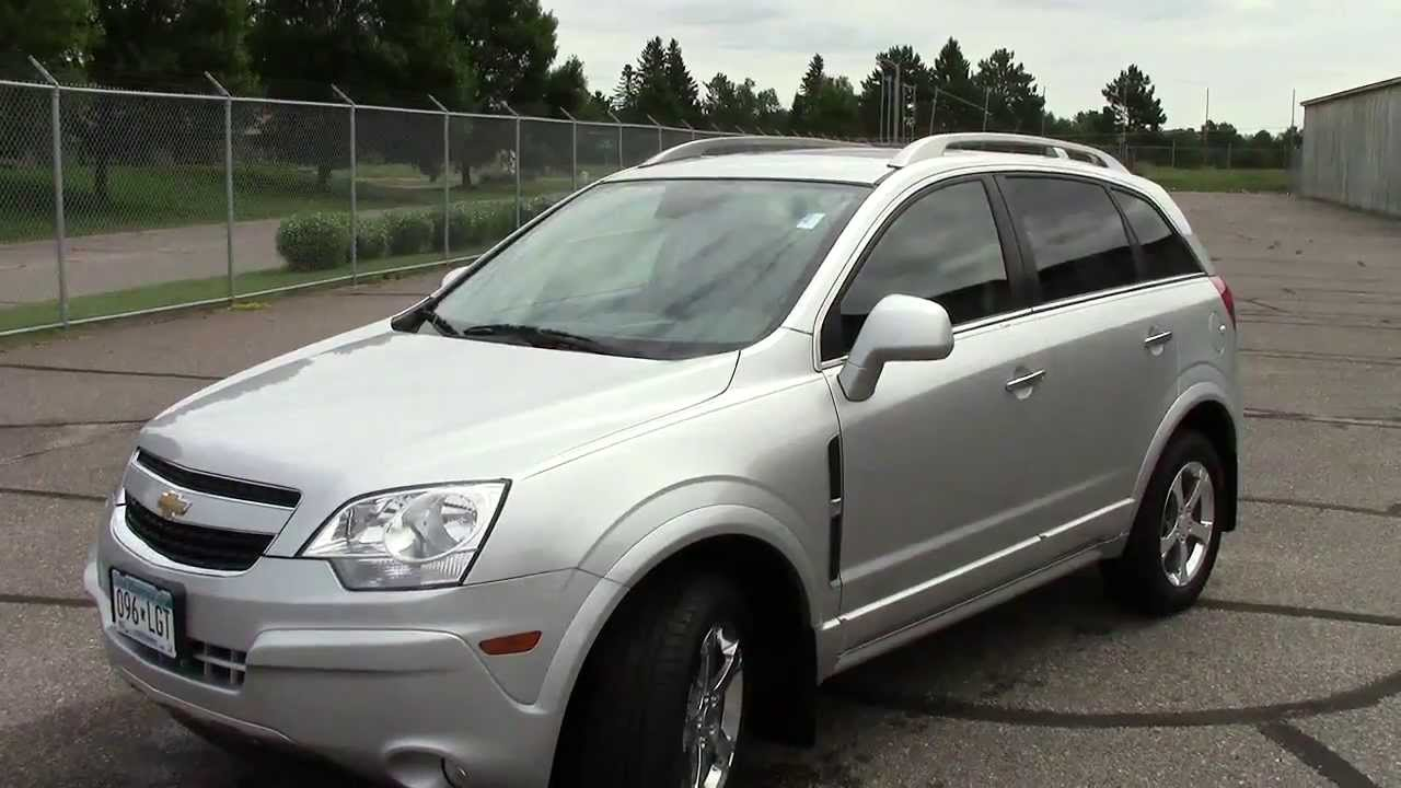 All Chevy chevy captiva awd : 2012 Chevrolet Captiva Sport AWD LTZ - YouTube