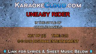 Charlie Daniels Band - Uneasy Rider (Backing Track)