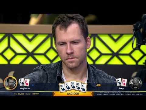 Highlights - HKD $250k Short Deck Ante Only - Final Table