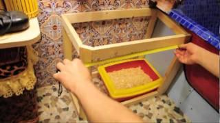 Делаем домик-туалет для кошечки.Ч-1.