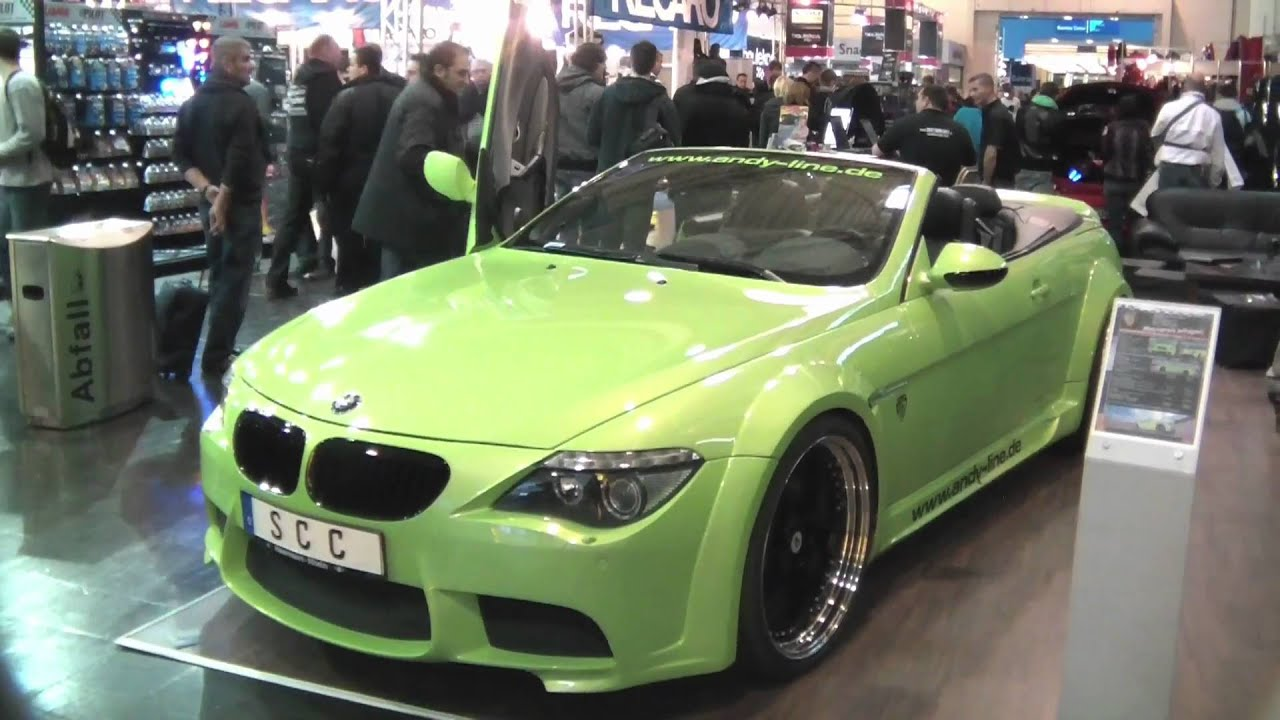 Lime Green Bmw M6 Convertible Youtube