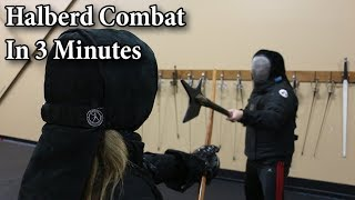 Halberd in 3 Minutes - Showcasing HEMA