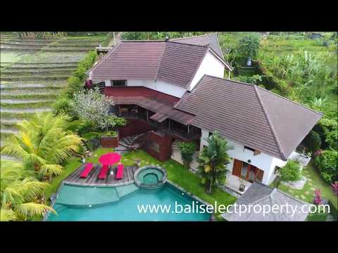 Spectacular Freehold Villa For Sale in Bali with Tennis Court