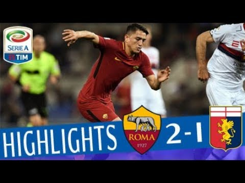 Roma - Genoa 2-1 - Highlights - Giornata 33 - Serie A TIM 2017/18