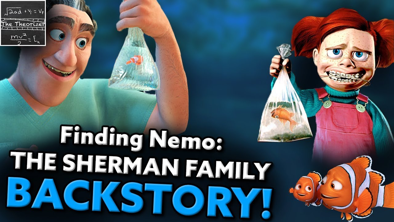 Finding Nemo: The Dentist's MIND BLOWING Backstory! – Pixar (Darla: Part 1) [Theory]