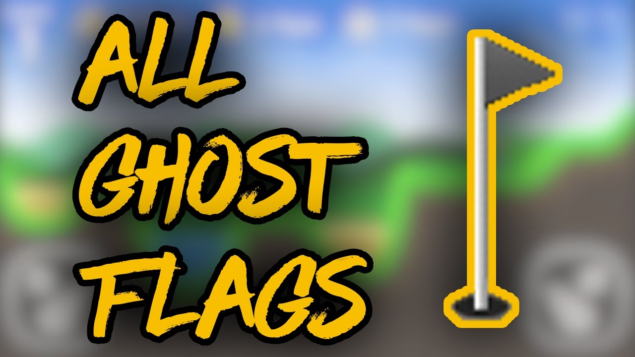 Flappy Golf 2  All Ghost Flags  YouTube