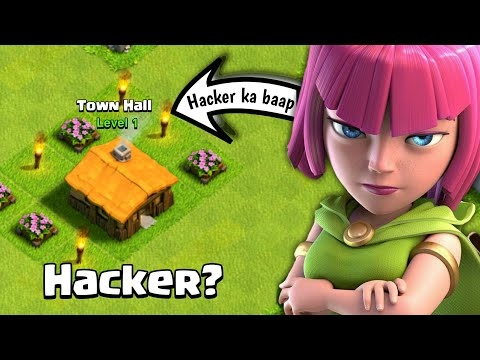 YOU WON'T BELIEVE THIS STRANGE PLAYER BASE In Clash Of Clans