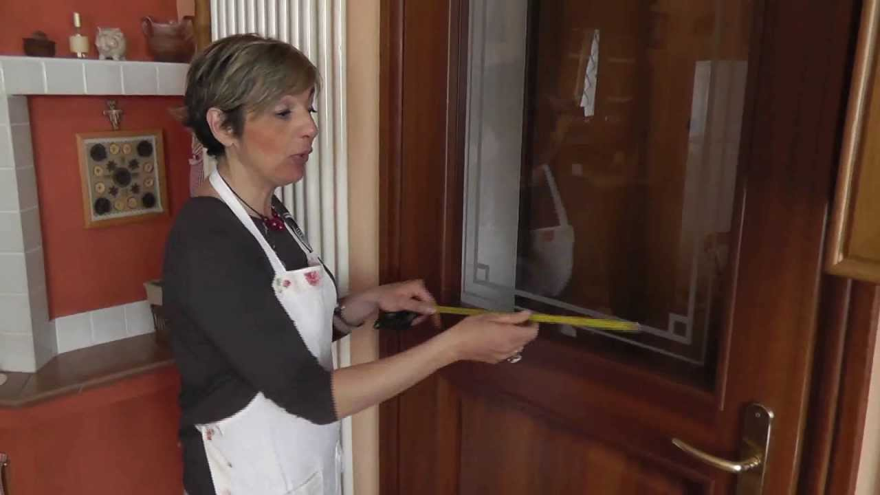 Come misurare le porte finestra per le tende veli for Tende a finestra