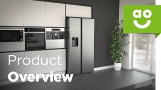 Samsung American Fridge Freezer RS68N8240S9 Product Overview | ao.com